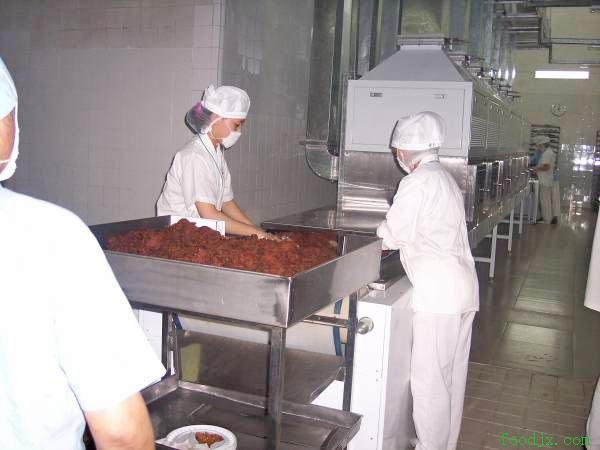 牛肉干微波干燥杀菌设备
