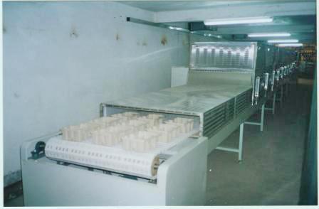 微波纸托干燥设备